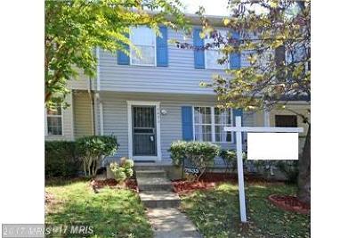Landover Townhouse For Sale: 7833 Suiter Way