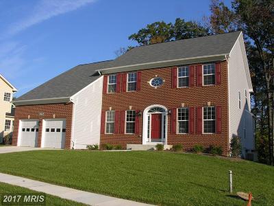 Aquasco Single Family Home For Sale: 15502 Hidden Meadow Court