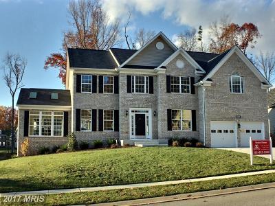 Aquasco Single Family Home For Sale: 22110 Garretts Chance Court
