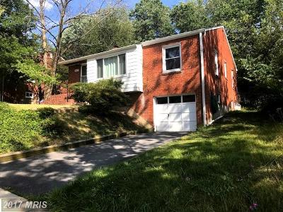 Hyattsville Single Family Home For Sale: 3107 Gumwood Drive
