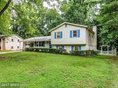 Laurel Single Family Home For Sale: 7012 Marmick Place