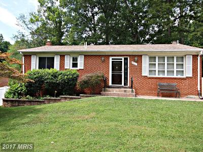 Clinton MD Single Family Home For Sale: $279,967