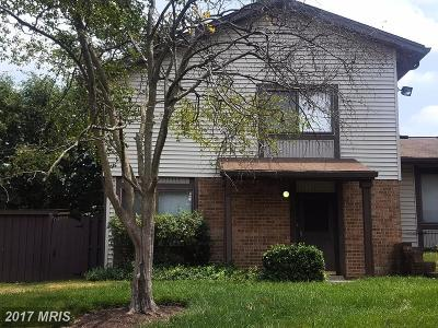 Upper Marlboro Rental For Rent: 107 Big Chimney Branch #16-4