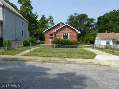 Fairmount Heights Single Family Home For Sale: 608 59th Avenue
