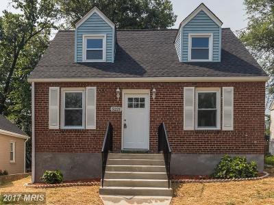 Bladensburg Single Family Home For Sale: 5221 Varnum Street