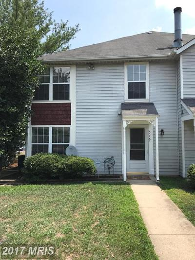 Upper Marlboro Townhouse For Sale: 5009 Marlborough Terrace