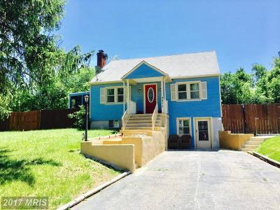 Clinton MD Single Family Home For Sale: $298,000