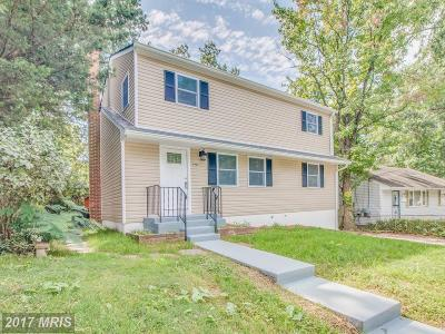 Hyattsville Single Family Home For Sale: 4907 78th Avenue
