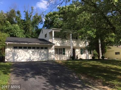 Temple Hills Single Family Home For Sale: 4615 Sharon Road