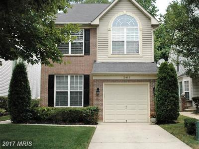 Bowie MD Single Family Home For Sale: $380,000