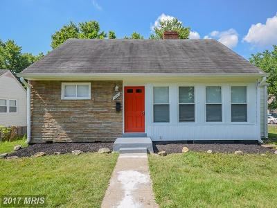 Hyattsville Single Family Home For Sale: 7001 Emerson Street