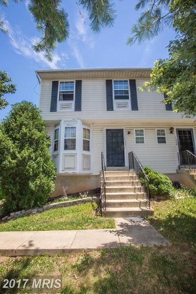 Fairmount Heights Townhouse For Sale: 6028 Jefferson Heights Drive