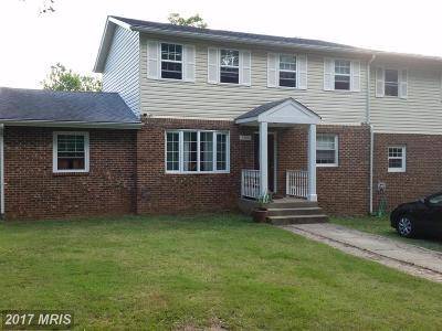 Lanham Single Family Home For Sale: 5500 Glen Avenue