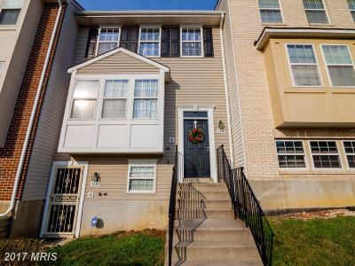 Suitland Townhouse For Sale: 4130 Crab Apple Court #6