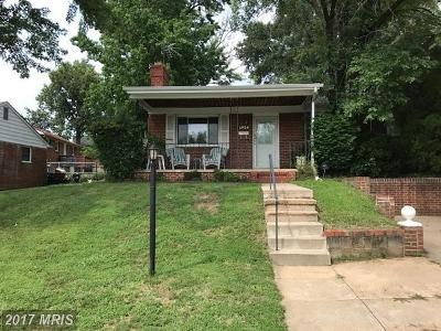 Hyattsville Rental For Rent: 6924 Emerson Street