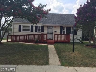 District Heights Single Family Home For Sale: 2605 Millvale Avenue