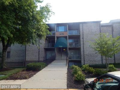 Greenbelt Condo For Sale: 7720 Hanover Parkway #201