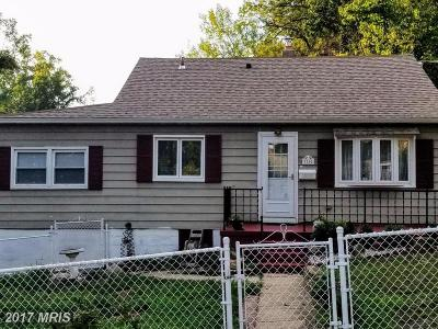 Hyattsville Single Family Home For Sale: 7760 Emerson Road