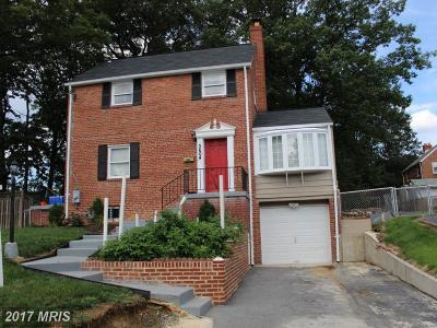 Temple Hills Single Family Home For Sale: 3604 28th Parkway