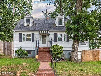 Hyattsville Single Family Home For Sale: 7761 Frederick Court