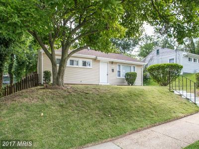 Hyattsville Single Family Home For Sale: 4823 66th Avenue