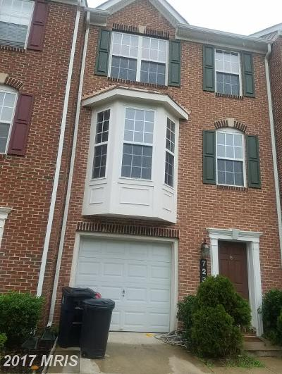 Upper Marlboro Townhouse For Sale: 723 Parev Way