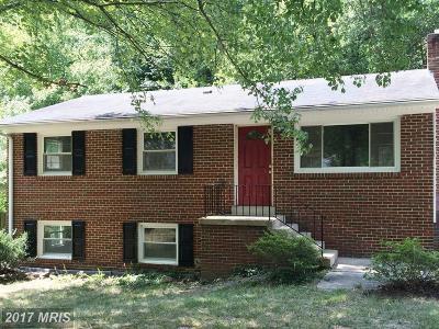 Upper Marlboro Single Family Home For Sale: 4401 Dario Road