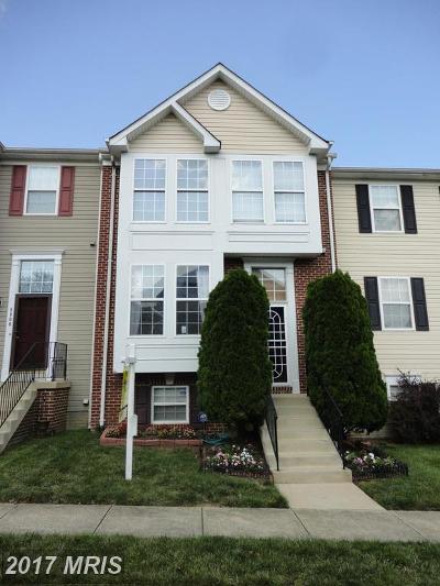 Upper Marlboro Townhouse For Sale: 8808 Community Square Lane