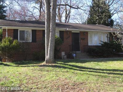 College Park Rental For Rent: 7402 Baylor Avenue