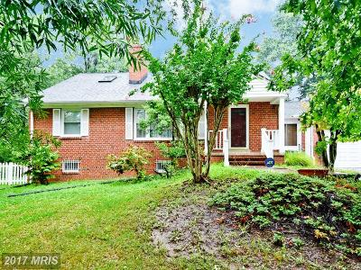Oxon Hill Single Family Home For Sale: 1830 Clayton Drive