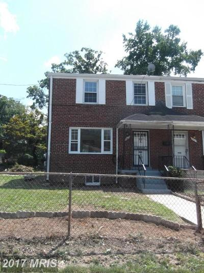 Temple Hills Rental For Rent: 2333 Kenton Place