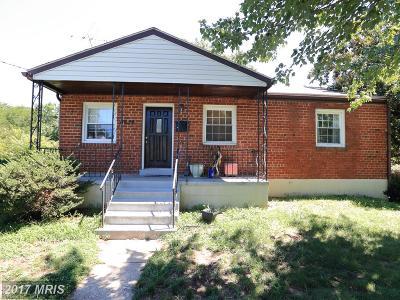 Beltsville Single Family Home For Sale: 4524 Usange Street