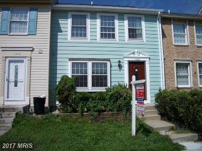 Beltsville Townhouse For Sale: 11408 Horse Soldier Place