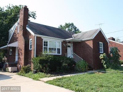 Hyattsville Single Family Home For Sale: 2261 Lewisdale Drive