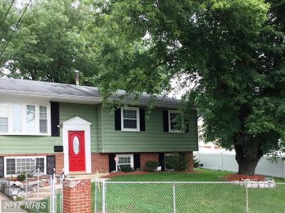 Capitol Heights Single Family Home For Sale: 203 Mill Avenue W