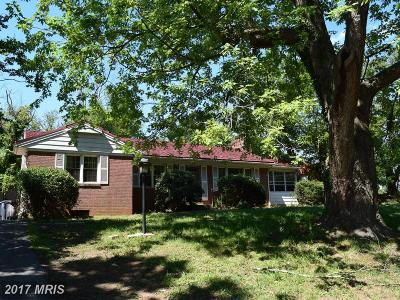 Temple Hills Single Family Home For Sale: 4414 Henderson Road