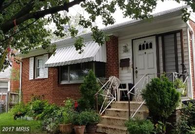 Hyattsville Single Family Home For Sale: 6614 Newport Road