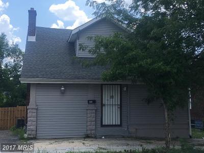 Laurel, Glenn Dale Single Family Home For Sale: 10004 Marguerita Avenue
