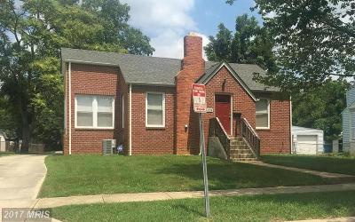 College Park, Greenbelt Single Family Home For Sale: 5008 Pierce Avenue