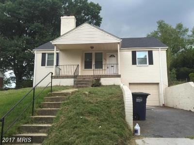 Hyattsville Single Family Home For Sale: 3408 Pennsylvania Street