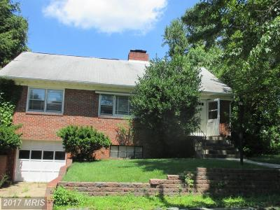 Hyattsville Rental For Rent: 3412 Pennsylvania Street