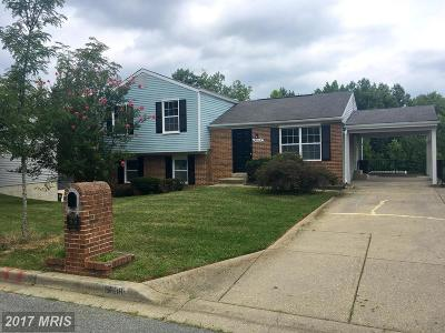 Upper Marlboro Single Family Home For Sale: 9608 Teakwood Drive