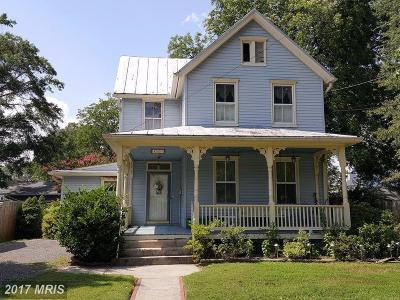 Laurel, Glenn Dale Single Family Home For Sale: 409 4th Street