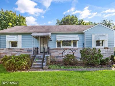 Beltsville Single Family Home For Sale: 4903 Howard Avenue