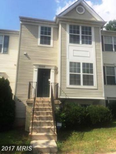 Capitol Heights Townhouse For Sale: 7002 Yellow Amber Court