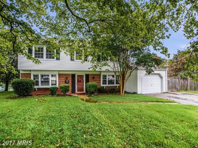 Bowie MD Single Family Home For Sale: $335,000