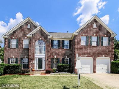 Bowie Single Family Home For Sale: 2508 Nicol Circle