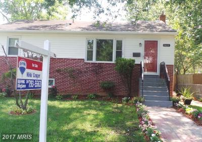 College Park Single Family Home For Sale: 5015 Fox Street