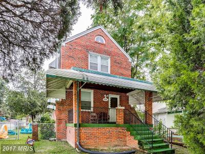 Capitol Heights Single Family Home For Sale: 4337 Southern Avenue