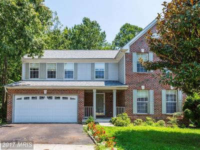 Bowie Single Family Home For Sale: 16504 Everdale Court